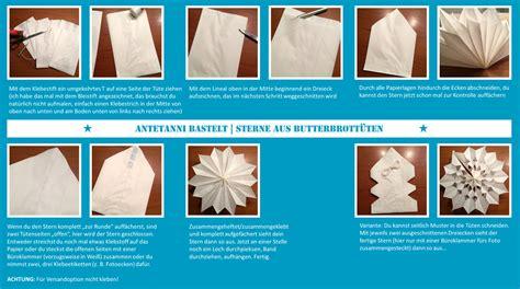 Aus Butterbrotpapier Anleitung by Sternenhimmel Aus Papier Antetanni Bastelt Anleitung