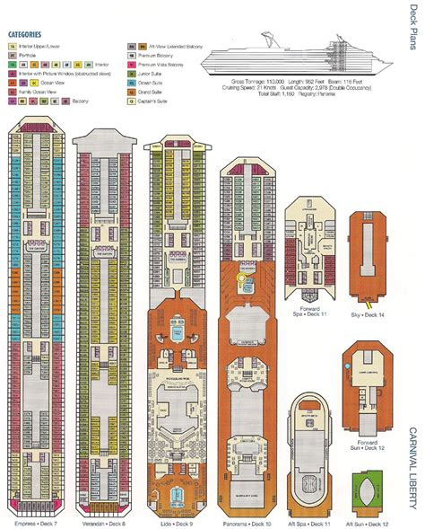 carnival liberty floor carnival cruise liberty ship deck plans great youmailr