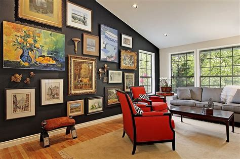 living room gallery wall chic living room decorating trends to out for in 2015