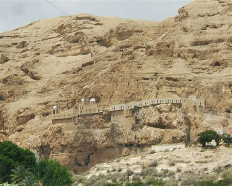 Modern Day Houses by File Cliffs Over Jericho Jpg Wikimedia Commons