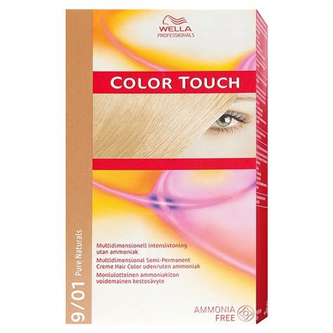 color touch wella color touch 9 01 cold light blond