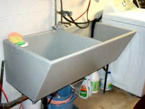 Metal Bathtub Concrete Sink Refinishing Gt Laundry Room Sink Repair