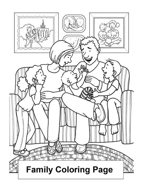 s coloring lounge books happy family in the living room coloring page happy