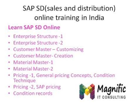 sap tutorial sales and distribution sap sales and distribution sd online training free demo