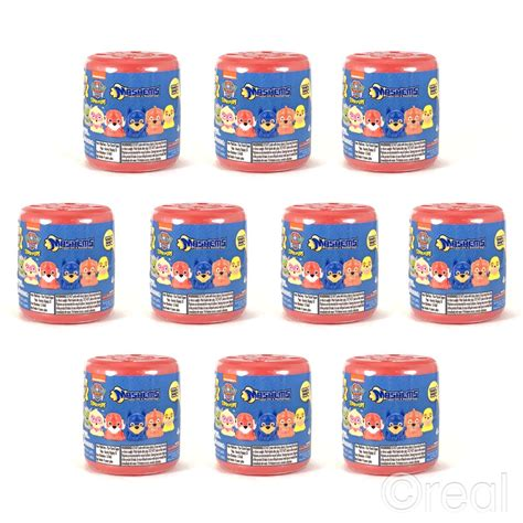 Squishy Paw Patrol Series 3 new 1 3 5 or 10 series 3 paw patrol pups blind mash ems pack official ebay