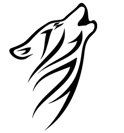 howling tribal wolf vinyl graphic decal car window sticker