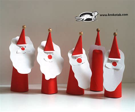 Santa Claus Paper Craft - krokotak paper santa claus