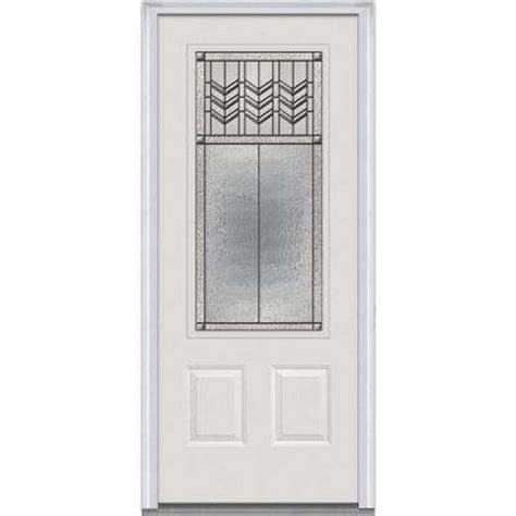 Steel Glass Panel Exterior Door 32 X 80 Doors With Glass Steel Doors Front Doors Exterior Doors The Home Depot