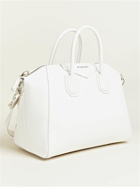 Givenchy Antigona Semprem givenchy givenchy womens antigona bag in white lyst