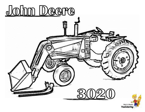 earthy tractor coloring pages farm tractors  farmers