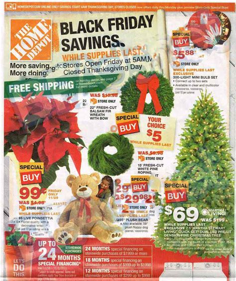 home depot weekly ad myideasbedroom