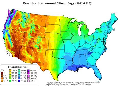 temperature map of united states prism climate chemical biological and