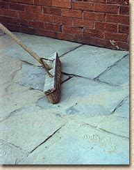 Grouting Patio Slabs by Paving Expert Aj Mccormack And Pointing And