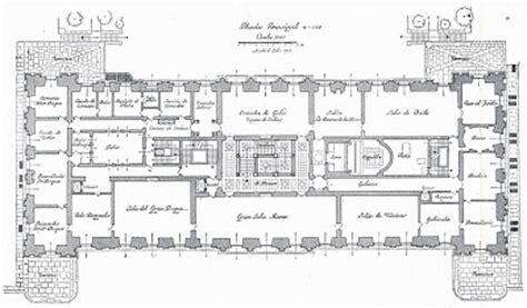 catherine palace floor plan the devoted classicist palacio de liria the madrid