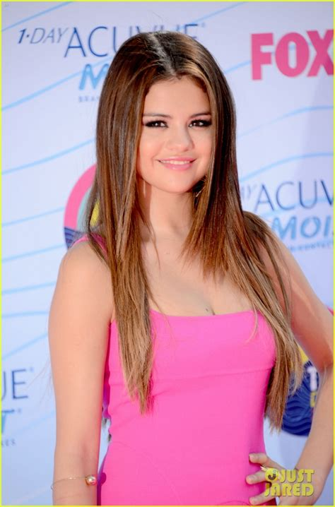 full sized photo of justin bieber selena gomez teen choice