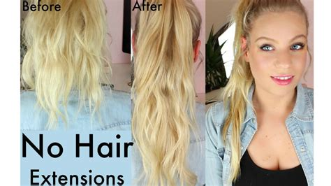 papillion tail how long to keep hair how to get long hair without using hair extensions