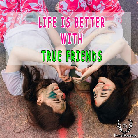 life    true friends daily images