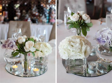 Wedding Table Centrepieces by A Classic Wedding At Sergeants Mess Modern Wedding