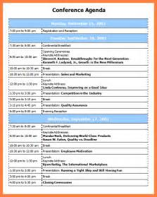 programme template for conference 7 conference program templates bussines 2017