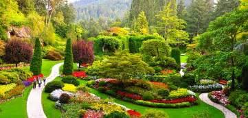 photos of gardens butchart gardens tour kenmore air