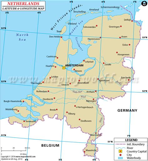 netherlands line map printable us map with latitude and longitude lines