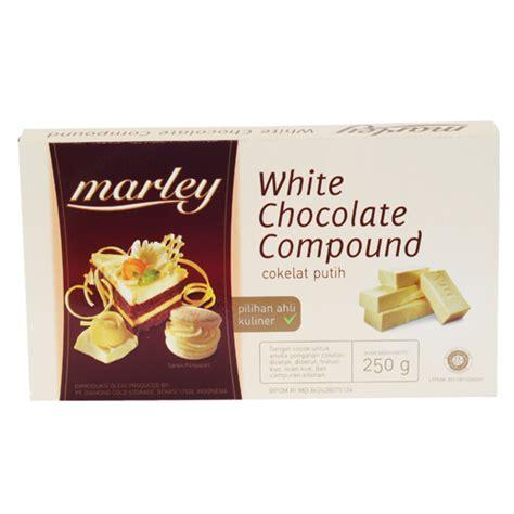 White Colatta Compound Chocolate 250gr marley chocolate compound 250 gr sukanda djaya