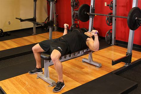 chest workout on bench bench press with bands exercise guide and video