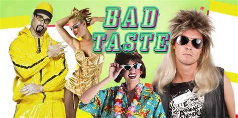 deko ideen für bad taste bad taste 80er jahre mottoparty maskworld