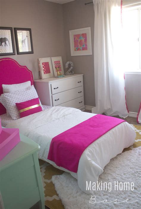 decorating a small bedroom for a