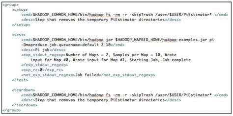 perl script template validating hadoop platform releases
