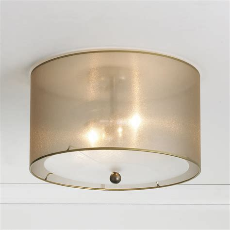 Light Shade Ceiling Sheer Elegance Organza Shade Ceiling Light Shades Of Light