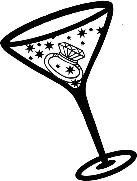 martini cartoon clip martini glass cocktail glass clipart clipart image clipartix