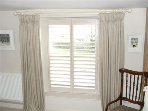 shutters and curtains shutters curtains and poles just curtains