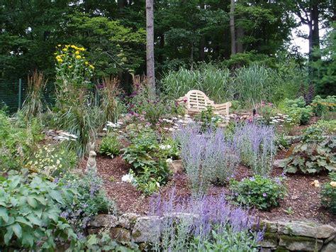 Perennial Gardens Ideas Small Perennial Garden Designs Spotlats