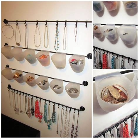 Bygel Ikea jewelry organizer made from ikea s bygel kitchen series