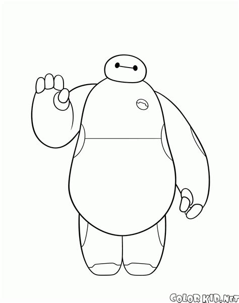 imagenes de baymax kawaii disegni da colorare big hero 6