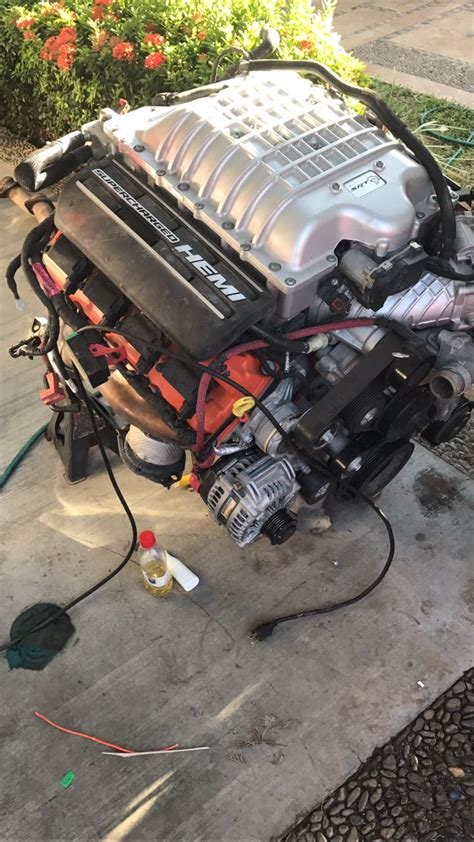 hellcat engine hellcat 6 2 sc complete engine for sale mopar forums