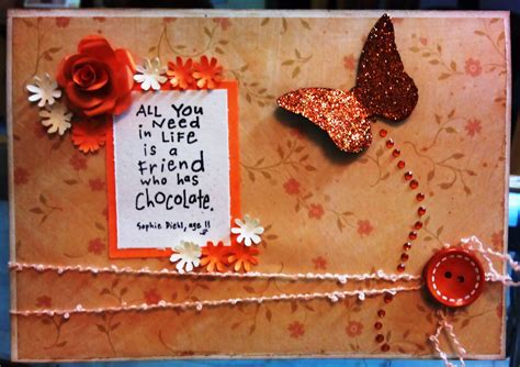 Handmade Friendship Day Cards - friendship day designs by shubhra jain
