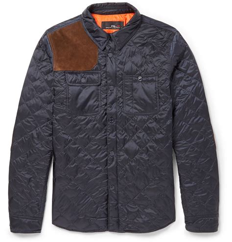 Suade Polos 5 lyst polo ralph quilted and suede