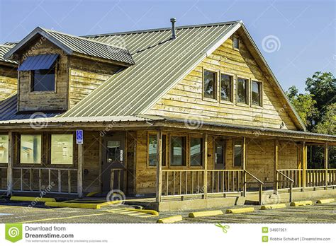 building style ranch style restaurant building stock image image 34907351