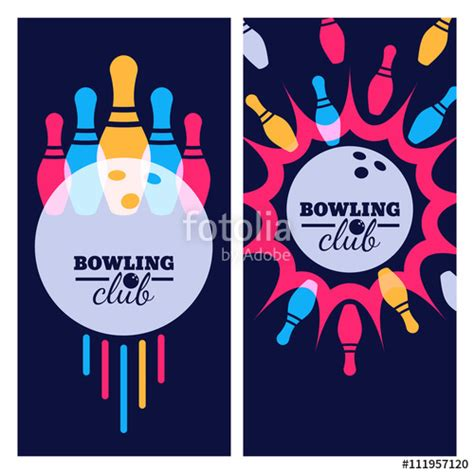 design banner bowling quot bowling backgrounds icons and elements for banner