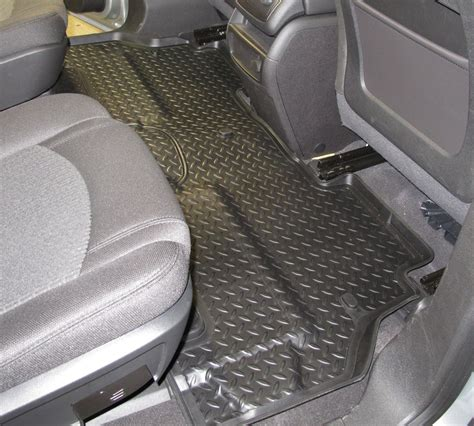 floor mats for 2012 chevrolet traverse husky liners hl61031