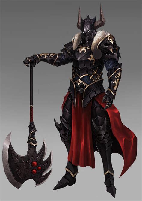 black knight artstation black knight wonil kim charakter