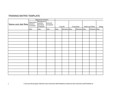 skills matrix template curriculum matrix template pictures to pin on