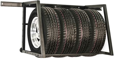 towrax adjustable garage wall tire rack free shipping