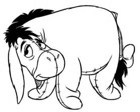 what color is eeyore pages family coloring pages to color baby animal