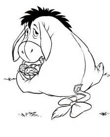 eeyore coloring pages eeyore easter coloring pages coloring pages