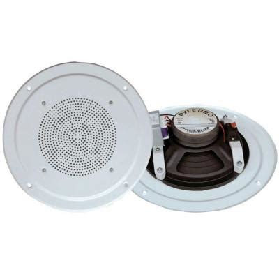 pyle range in ceiling speaker system with transformer