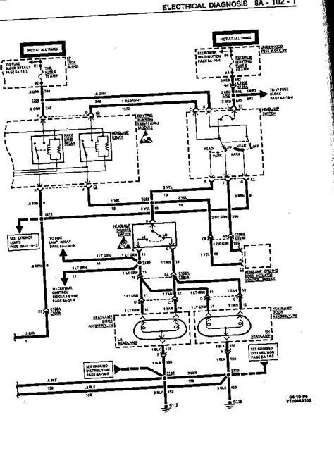 1974 corvette headlight vacuum diagram 1974 corvette headlight vacuum diagram pictures to pin on