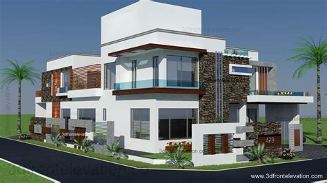 corner house design 3d front elevation com 500 square yards house plan 3d front elevation design 479
